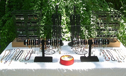 Jewelry Display Ideas For Setting Up For Jewelry Shows