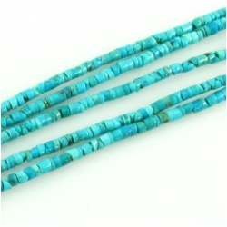 Turquoise Hubei A tiny heishi gemstone beads (S) Approximate size 3mm 15.3 inch