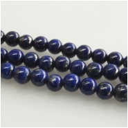 Lapis A round tiny gemstone beads (N) Approximate size 3mm to 3.3mm  15.7 inch