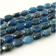 Apatite oval gemstone beads (N) Approximate size 6 x 7mm to 6.5 x 8.5mm 15.5 inch