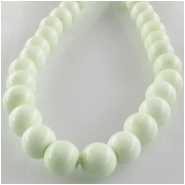 Lemon Chrysoprase round gemstone beads (N) Approximate size 6mm 16 inch