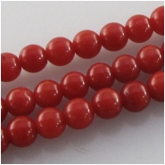 Coral South China Sea tiny round gemstone beads (D) Approximate size 2.8mm 16 inch