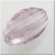 1 Amethyst puff oval gemstone bead (N) 11 to 12mm CLOSEOUT