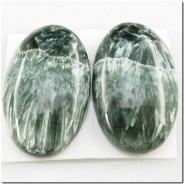 1 Seraphinite AA gemstone cabochon (N) 37mm CLOSEOUT