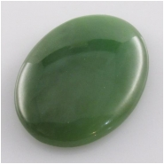 1 Nephrite Jade AAA oval gemstone cabochon Super sale(N) Approximate size 25 x 35mm