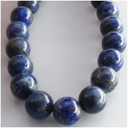 Lapis round gemstone beads (N) Approximate size 10mm 15.8 inch