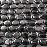 Hypersthene oval gemstone beads (N) 12 x 16mm 16 inch CLOSEOUT