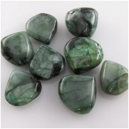 5 Emerald B drop briolette gemstone beads (ED) Approximate size 11 to 11.9mm Top side drilled