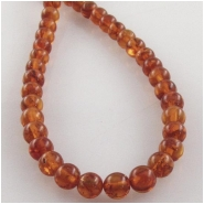 Amber Baltic round gemstone beads (N) Approximate size 3.4 to 3.7mm 16 inch
