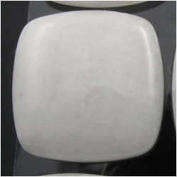 1 Quartz white square gemstone cabochon (N) 24 to 25mm square, 6.5 to 7.4mm thick.CLOSEOUT