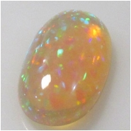 1 Ethiopian Opal AAA cabochon gemstone (N) Approximate size 10.2 x 13.5 x 5.2mm