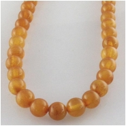 Amber Baltic A plus darker round gemstone beads (N) Approximate size 4.4 to 4.6mm 15.7 inch