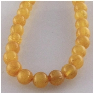 Amber Baltic A plus lighter round gemstone beads (N) Approximate size 4.4 to 4.6mm 15.7 inch