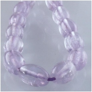 Amethyst lavender rice gemstone beads (N) Approximate size 6 x 8mm 15.5 inch