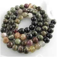 Tourmaline B irregular round gemstone beads (N) Approximately 5mm to 6mm 14 inch CLOSEOUT