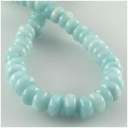 Amazonite rondelle gemstone beads (N) Approximate size 6mm 16 inch
