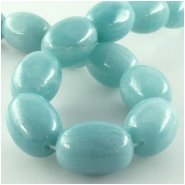 Amazonite barrel gemstone beads (N) Approximate size 12 x 17mm 16 inch