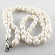 Pearls fashion designer baroque barrel with base metal clasp Super Sale (D) Approximate size 7x 8mm to 8 x 10mm 22 inch