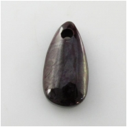 1 Sugilite big hole pendant gemstone bead (N) Approximate size 13.5 x 26.9mm 3mm hole