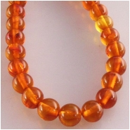 Amber round gemstone beads (N) Approximate size 4mm 3.8 to 4.1mm 16 inch