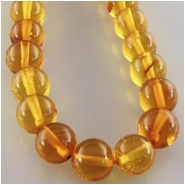 Amber round gemstone beads (N) Approximate size 6mm 6.2 to 6.5mm 16 inch
