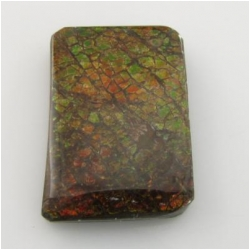 1 Ammolite freeform triplet cabochon gemstone Approximatey 22 x 33 x 5.5mm thick One only