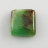 1 Chrysoprase cabochon gemstone (N) Approximate size 16.6 x 18.5 x 6.6mm deep