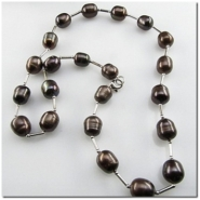 1 Pearl necklace (D) pearls are 8.5 to 10mm CLOSEOUT