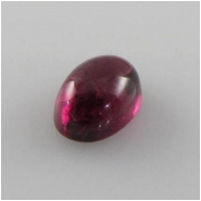 1 Rhodolite garnet oval cabochon cut loose gemstone  (N) 5 x 7mm CLOSEOUT