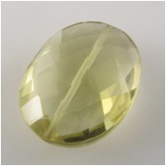 Wholesale lemon quartz gemstone beads pendants and cabochons 1 lemon quartz faceted oval gemstone pendant bead h approximate size range 113 x mozeypictures Images