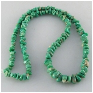 Variscite graduated nugget gemstone beads (S) Approximate size 3.5 x 4mm to 6 x 8mm 16 inch