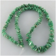 Variscite graduated nugget gemstone beads (S) Approximate size 3.7 x 5.4mm to 5.2 x 12mm 16 inch