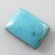 1 Turquoise Morenci 2nds cabochon gemstone (N) Approximate size 18.1 x 25 x 6.4mm deep