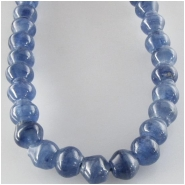 Kyanite roundel gemstone beads (N) Approximate size 4 x 6mm to 5 x 6mm 15.5 inch