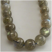 Labradorite round gemstone beads (N) Approximate size 7mm 7.1 to 7.4mm 15.5 inch with nice fire