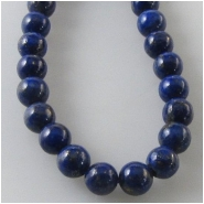 Lapis round gemstone beads (N) Approximate size 4mm 16 inch