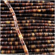 Heishi Black Pen Shell beads (N) 3mm