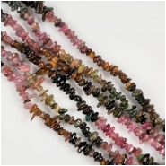 Tourmaline Chip Gemstone Beads (N) Approximate Size 4.2 to 12.4mm 16 inches