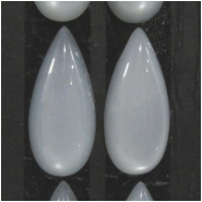 2 Moonstone silver AAA cats eye chatoyant long tear drop gemstone cabochons (N) Approximate size 8 x 18mm