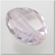 1 Amethyst puff oval gemstone bead (N) 11 to 11.8mm