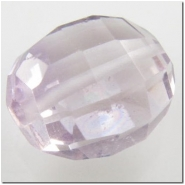 1 Amethyst puff oval gemstone bead (N) 10.8 to 12mm