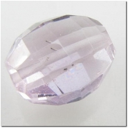 1 Amethyst puff oval gemstone bead (N) 11.4 to 13mm
