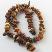Amber Baltic flat nugget gemstone beads (N) Approximate size range 7 x 7mm to at least 9 x 12mm 16 inch