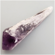 Amethyst Point Raw Gemstone Pendant 33g No Holes (N) Approximate size77.72mm