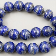 1 Lapis Round Gemstone Bead (N) Approximate size 20.14 to 20.3mm