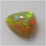 1 Ethiopian Opal AAA pyramid cabochon gemstone (N) Approximate size 11mm x 4.5mm