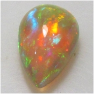1 Ethiopian Opal AAA cabochon gemstone (N) Approximate size 10 x 16.2 x 6.6mm
