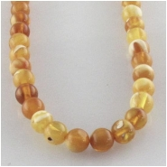Amber Baltic darker multicolor round gemstone beads (N) Approximate size 3.6 to 3.8mm 15.7 inch