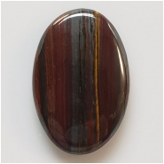 1 Tiger Iron Oval Gemstone Cabochon (N) Approximate size 26.26 x 39mm