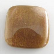 1 Sunstone AA square gemstone cabochon (N) 25mm